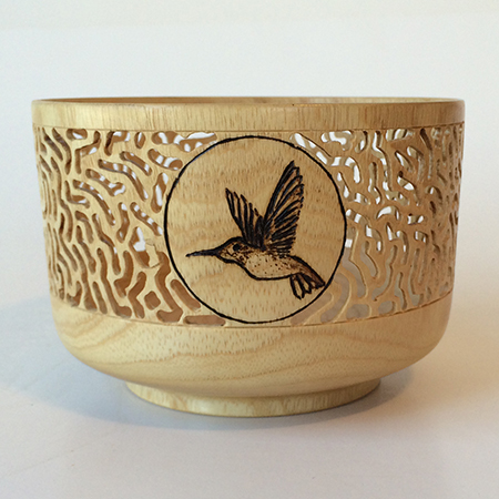 Filigree bowl.