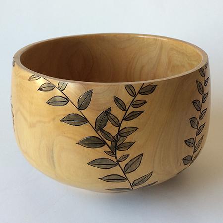 Cedar Leafy Bowl